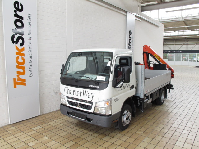 Mitsubishi Fuso Canter 5s13 Flatbed Van From Germany For Sale At Truck1 Id 842520