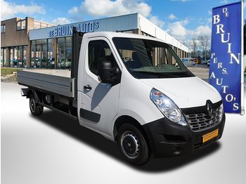 Renault Master T35 2.3 dCi L3 Airco 3-Persoons 92Kw / 125 Pk - flatbed van