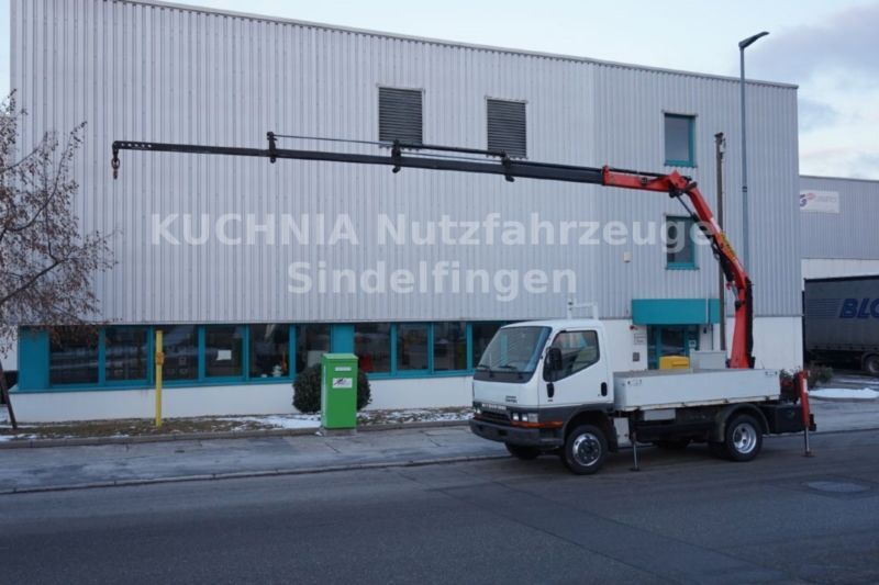 Mitsubishi Canter 65c13 Kran Pk5000b 10 7m 330kg Funk Klima Van From Germany For Sale At Truck1 Id 2272110