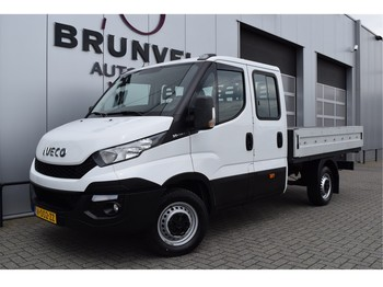 Iveco Daily 35S13D, 7-Pers. Dubbele CabineOpen Laadbak, Cruise, wb345 - open body delivery van