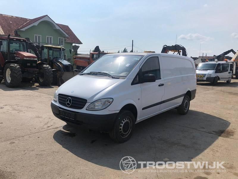 4X4 Sprinter Van For Sale >> Panel Van Mercedes Benz Vito 4x4 Truck1 Id 3919428
