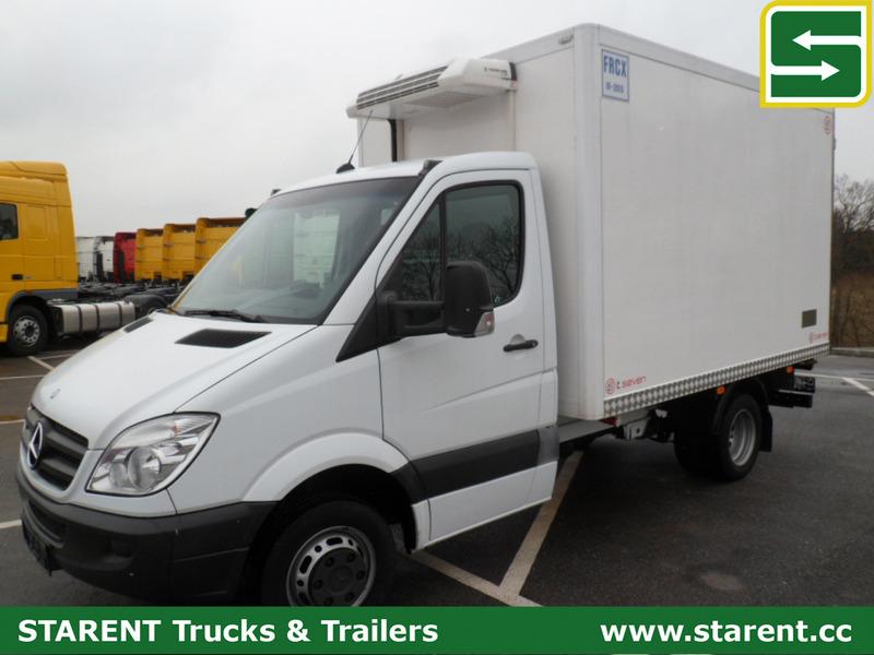Refrigerated delivery van MERCEDES BENZ Sprinter 413 Kühlkoffer, Thermo  King V200, Klima - Truck1 ID: 1133092