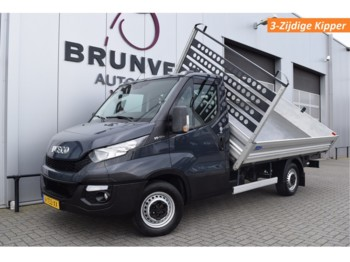Tipper van Iveco Daily 35S17 3.0L 170pk, 3-Zijdige kipper, Luchtvering, Trekhaak, Navi, Cruise, Airco, wb375