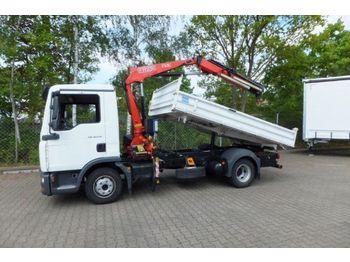 Man Man 8 210 Kipper Mit Kran 47 Tkm Tipper Van From Germany For Sale At Truck1 Id 1295935