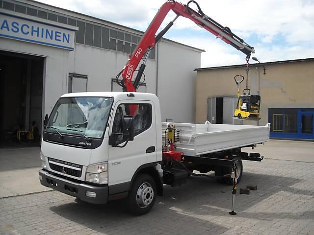 New Mitsubishi Fuso Canter 7c15 Kipper Ladekran Mit Sonderzins Tipper Van For Sale From Germany At Truck1 Id 1082552