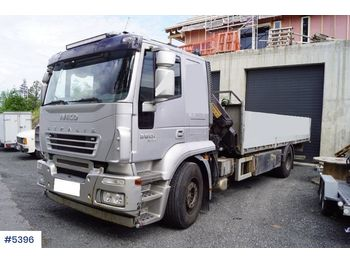 Бортова вантажівка Iveco Stralis