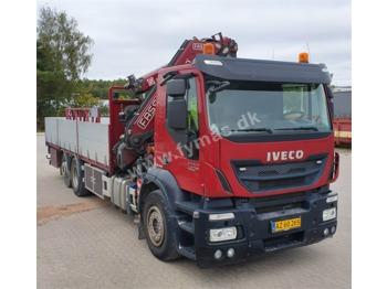 Бортова вантажівка Iveco Stralis 260 w/Fassi F275A: фото 1