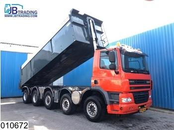 Ginaf X 5250 TS 10x4, EURO 5, Airco, Airpress cabin, Asfalt transport, Isolated - самоскид вантажівка