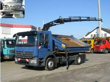 Самоскид вантажівка Mercedes-Benz Atego 1223 K 2-Achs Kipper Kran Funk, 4xhydr.