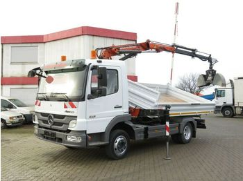 Самоскид вантажівка Mercedes-Benz Atego 818 K 2-Achs Kipper Kran