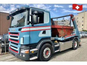 Scania R380  - скіповий навантажувач вантажівка