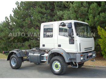 Iveco EURO CARGO 95 E 16 DOKA + SINGLE Reifen 4 x 4  - вантажівка шасі