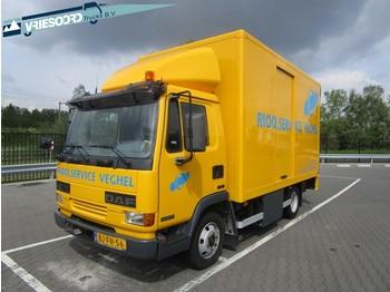 Вантажівка з закритим кузовом DAF AE 45 CE