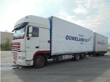 Вантажівка з закритим кузовом DAF XF105-410 SSC MANUAL