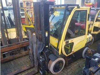 Haarukkatrukki Hyster 5 units defect Hyster forklifts AS IS CONDITION