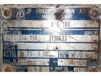 Bova FHX PŘEVODOVKA ZF 8S180  - käigukast