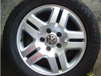 4 Cerchi Volkswagen Touareg  - rattad/ rehvid