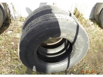 OPONA MICHELIN XZY-2 315/80/22.5 - rattad/ rehvid
