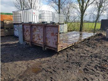 Vossebelt flat - växelflak/ container