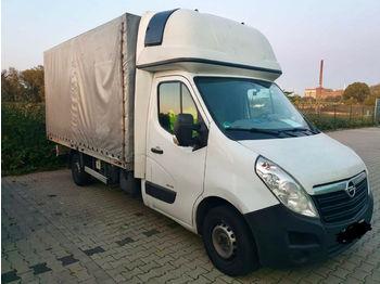 Opel Movano 150 8PAL  - furgoneta con caja de lona