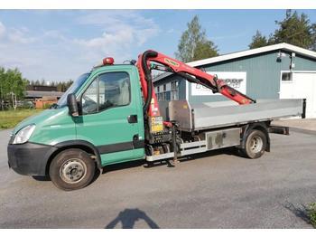 Volquete furgoneta Iveco Daily 65 C 14 Palfinger 5000 rahtilava kipillä