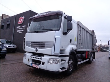 Camión de basura Renault Premium 440 vie-animal pick up - lift