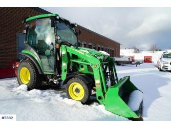 John Deere 2036R - tractor para trabajos municipales