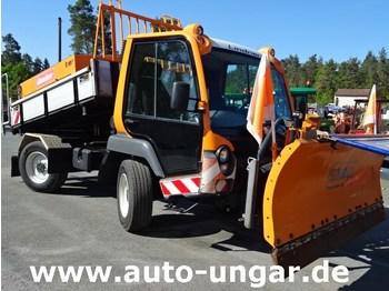 Lindner Unitrac 102 4x4x4 Zapfwellen Kipper Winterdienst - tractor para trabajos municipales