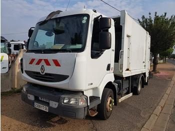 Renault Midlum 220 - caminhão de lixo