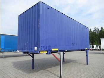 / - BDF-Wechselkoffer mit Rolltor 7,15 m - veksellad til varevogne