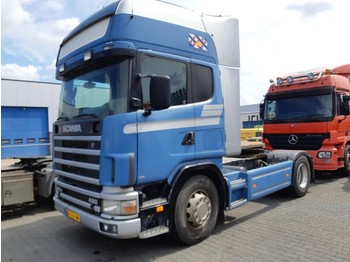 Vetopöytäauto Scania R 124 420 Manual Euro2