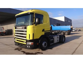 Vlačilec Scania 114 - 340 (MANUAL GEARBOX / BOITE MANUELLE / PERFECT CONDITION)