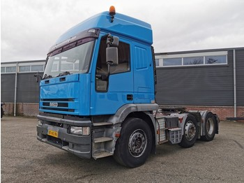 Влекач Iveco MP400E38TX/P Eurotech 6x2/4 Euro2 - Manual - 277000km Original !!! 12/2020APK