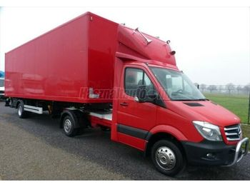 Влекач MERCEDES-BENZ MERCEDES-BENZ SPRINTER 519 cdi BE vontató Koffer+HF SPRINTER 519 cdi BE vontató Koffer+HF