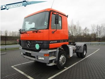 Влекач Mercedes-Benz Actros 2040 4x4 full steel: снимка 1
