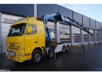 Volvo FH 16.520 8x4 Fassi 90 ton/meter laadkraan - شاحنة