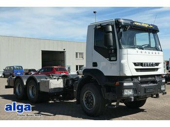 Iveco AD260T36 6x4, wenig KM, Schalter, Blattfederung  - chassis vrachtwagen