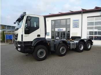 Iveco Trakker 410 8x4 Fahrgestell-Betonmischer Euro 6  - chassis vrachtwagen