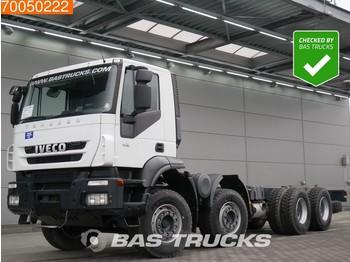 Iveco Trakker AD410T42 8X4 Manual Big-Axle Steelsuspension Euro 3 - chassis vrachtwagen