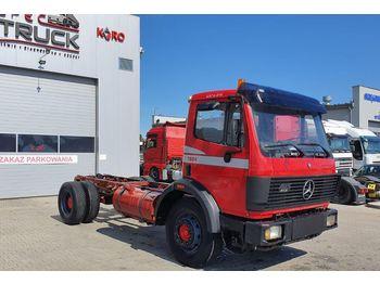 MERCEDES-BENZ SK 1824, FULL BLATT, MANUAL - chassis vrachtwagen