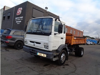"""Chassis vrachtwagen Renault M 180 187""""km Chassis sans benne"""