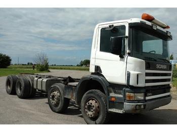 SCANIA P 114 340 8X4 - chassis vrachtwagen