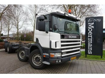 Scania P 114G 340 8x2*6 Fahrgestell  - chassis vrachtwagen