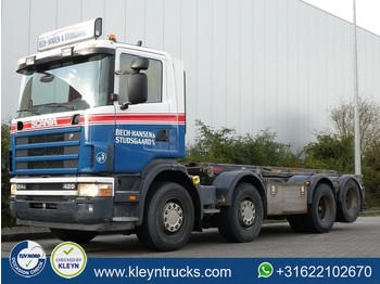 Scania R124.420 8x2 manual - chassis vrachtwagen