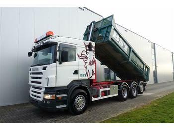 Scania R480 8X4 TRIDEM DUMPER EURO 5  - chassis vrachtwagen