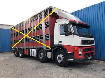 Volvo FM13 400 8x2, Steel suspension, Retarder, Manual - chassis vrachtwagen