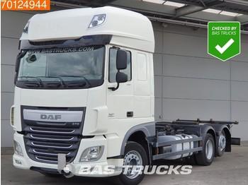 Containertransporter/ wissellaadbak vrachtwagen DAF XF 460 6X2 SSC Intarder Liftachse 2x Tanks Euro 6