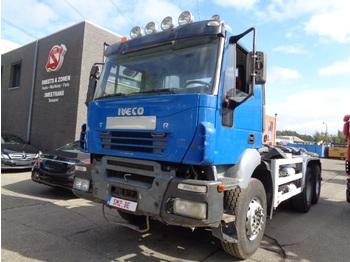 Containertransporter/ wissellaadbak vrachtwagen Iveco Eurotrakker 440 6x4 cursor 13