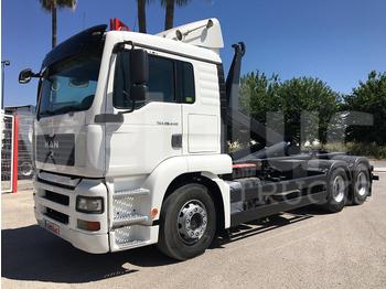MAN TGS 28.440 - containertransporter/ wissellaadbak vrachtwagen