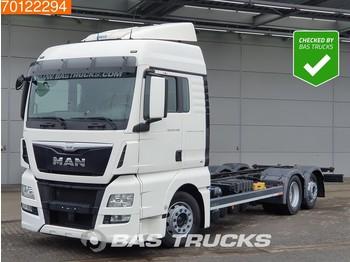 MAN TGX 24.440 6X2 XLX Intarder Mega Standklima ACC Euro 6 - containertransporter/ wissellaadbak vrachtwagen